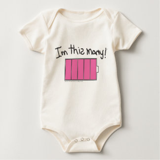 Ich bin diese viele… baby strampler