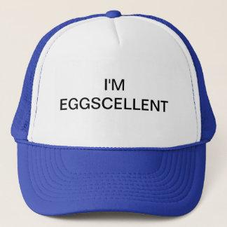 Ich bin Eggscellent Fernlastfahrer-Hut Truckerkappe