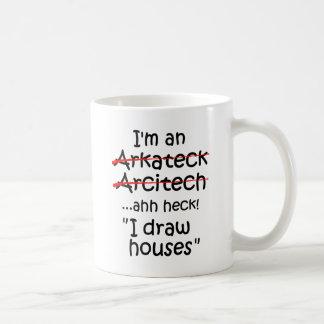 Ich bin ein Architekt Tasse