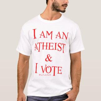 Ich bin ein Atheist und ich wähle T-Shirt