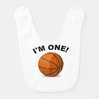 Ich bin ein Basketball Lätzchen