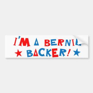 Ich bin ein Bernie-Beistand Autoaufkleber