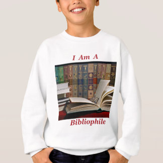 Ich bin ein Bibliophile Sweatshirt