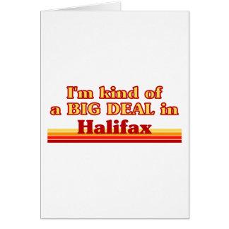 Ich bin ein bisschen eine große Sache in Halifax Karte