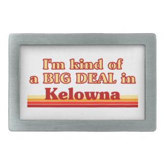 Ich bin ein bisschen eine große Sache in Kelowna Rechteckige Gürtelschnalle
