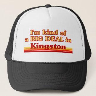 Ich bin ein bisschen eine große Sache in Kingston Truckerkappe