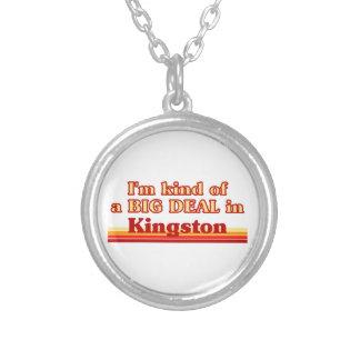 Ich bin ein bisschen eine große Sache in Kingston Versilberte Kette