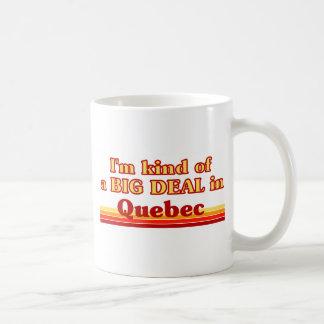 Ich bin ein bisschen eine große Sache in Quebec Kaffeetasse