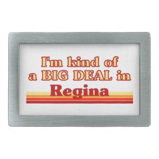 Ich bin ein bisschen eine große Sache in Regina Rechteckige Gürtelschnallen