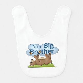 Ich bin ein Bruderbär Babylätzchen