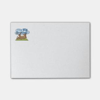 Ich bin ein Bruderbär Post-it Klebezettel