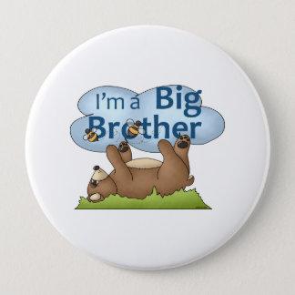 Ich bin ein Bruderbär Runder Button 10,2 Cm