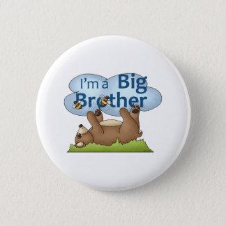 Ich bin ein Bruderbär Runder Button 5,7 Cm