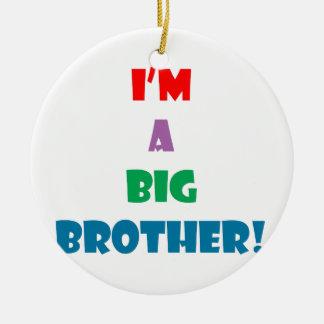Ich bin ein Brudertext Keramik Ornament