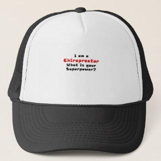 Ich bin ein Chiropraktor, was Ihre Supermacht ist Truckerkappe