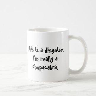 Ich bin ein Chupacabra Kaffeetasse