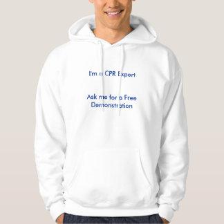 Ich bin ein CPR-Experte frage mich für eine freie Hoodie