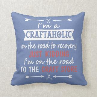 Ich bin ein CRAFTAHOLIC Kissen