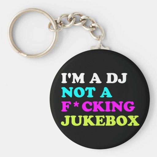 Ich bin ein DJ nicht ein Musikautomat Schlüsselbänder