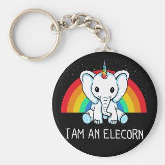 Ich bin ein Elecorn Schlüsselanhänger