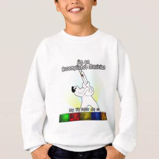 Ich bin ein erreichter Musiker - Licht Sweatshirt