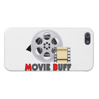 Ich bin ein Film-Büffelleder iPhone 5 Etui