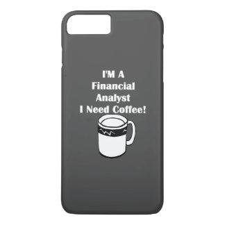 Ich bin ein Finanzanalytiker, ich benötige Kaffee! iPhone 8 Plus/7 Plus Hülle
