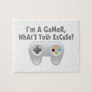 Ich bin ein Gamer, was Ihre Entschuldigung ist Puzzle