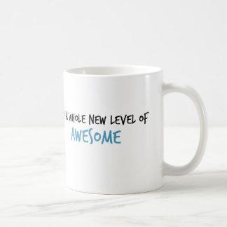 Ich bin ein ganzes neues Niveau der fantastischen Kaffeetasse