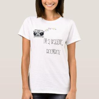 Ich bin ein gehendes Boombox T-Shirt