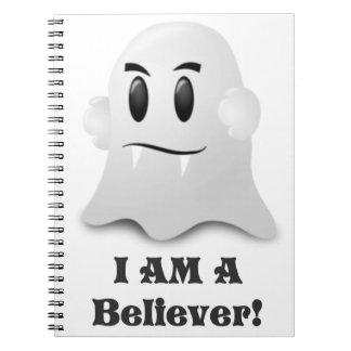 Ich bin ein Gläubiger in den Geistern Notizblock