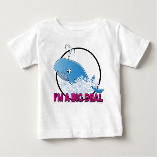 Ich bin ein großes Abkommen - Baby-feines Jersey-T Baby T-shirt