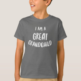 Ich bin ein großes Enkelkind T-Shirt