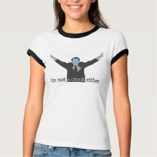 ich bin ein Haken auch nicht - Blau T-Shirt