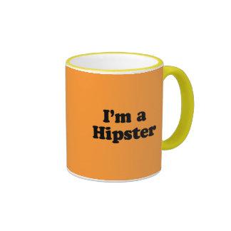Ich bin ein Hipster Ringer Tasse