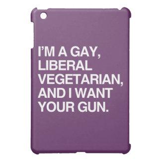 Ich bin ein homosexueller, liberaler Vegetarier Hülle Für iPad Mini