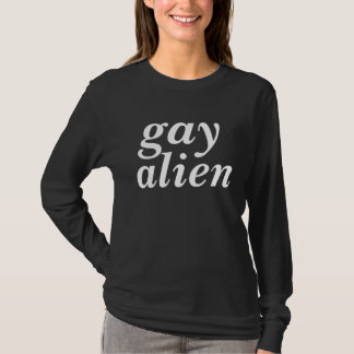 ich bin ein homosexuelles alient-shirt T-Shirt