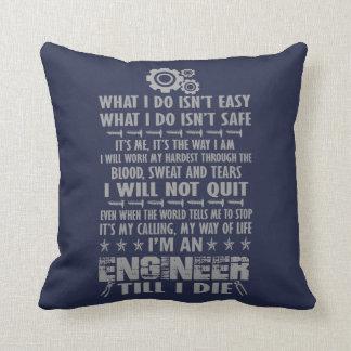 Ich bin ein Ingenieur, bis ich die Kissen