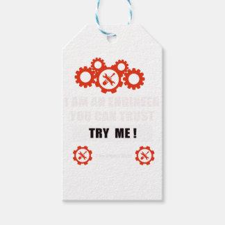 Ich bin ein Ingenieur, den Sie vertrauen können Geschenkanhänger
