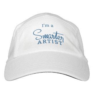 Ich bin ein intelligenterer Künstlerhut Headsweats Kappe