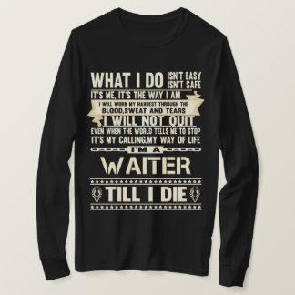 Ich bin ein KELLNER. Geschenk-T - Shirt