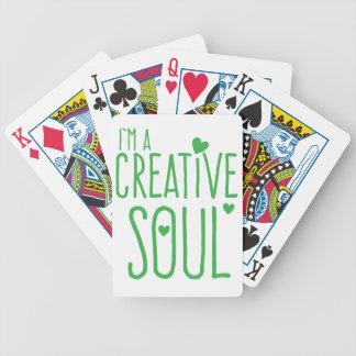 Ich bin ein kreatives Soul Pokerkarten