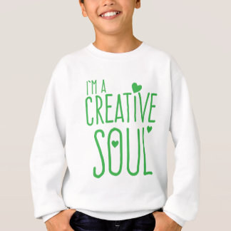 Ich bin ein kreatives Soul Sweatshirt
