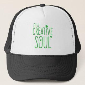 Ich bin ein kreatives Soul Truckerkappe