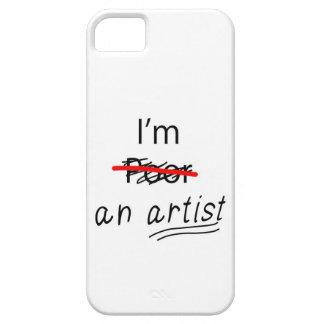 Ich bin ein Künstler - rufen Sie Fall/Abdeckung an Barely There iPhone 5 Hülle