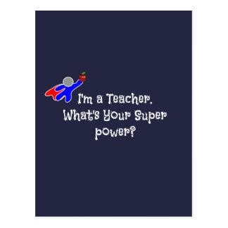 Ich bin ein Lehrer--Lehrer-Spaß Postkarte