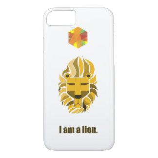 Ich bin ein Löwe iPhone 8/7 Hülle