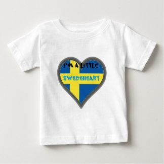 Ich bin ein Lttle Swedeheart Baby-Kleidung Baby T-shirt