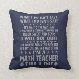 Ich bin ein Mathe-Lehrer, bis ich die Kissen