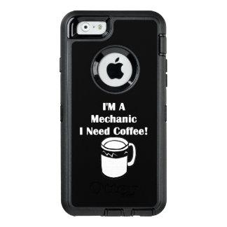 Ich bin ein Mechaniker, ich benötige Kaffee! OtterBox iPhone 6/6s Hülle